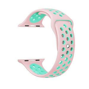 Sports Apple Watch Strap | Apple Watch | Pink Turquoise