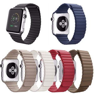 Magnetic Leather Loop Apple Watch Strap | Apple Watch | [option1]