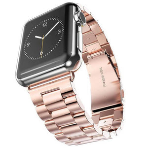 Stainless Steel Apple Watch Strap | Apple Watch | Rose Gold