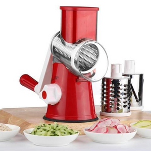 Multi-Function Vegetable Cutter & Slicer | Shredders & Slicers | Red