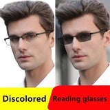 German intelligent Color Progressive Auto Focus reading glasses