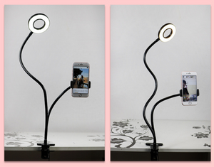 Professional Portable LED Light with Cell Phone Holder™ -  BUY2 EXTRA SAVE $10