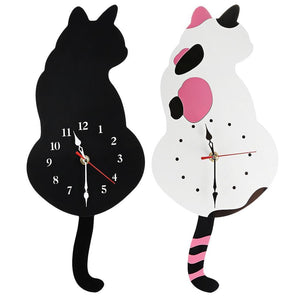 Cat Wall Clock | [product_type] | [option1]