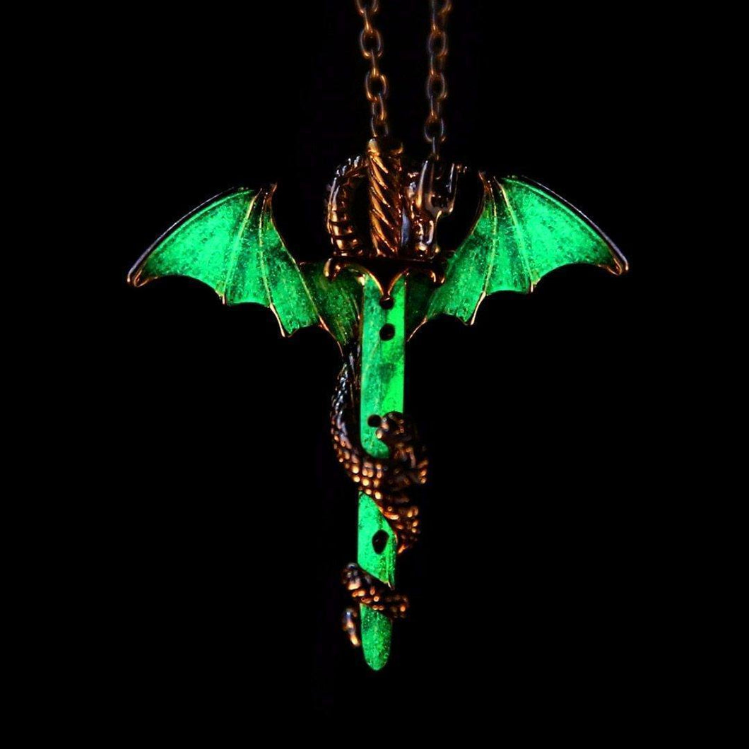 Glowing Dragon Necklace | [product_type] | [option1]