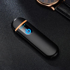 USB induction flameless lighter | [product_type] | Matte Black