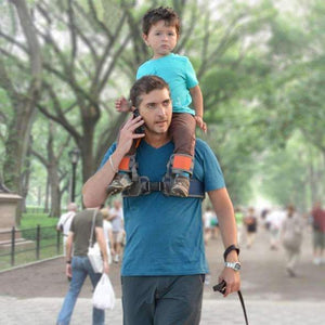 Hands-Free Shoulder Carrier with Ankle Straps | Baby | [option1]