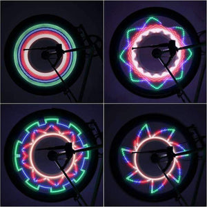 Bicycle Wheel Spoke LED Light | 32 Pattern | Gadget | [option1]
