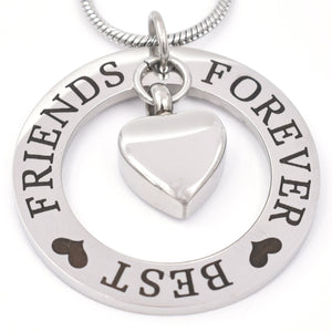 Best Friends Forever | Urn Jewelry | Urn Necklace | [option1]