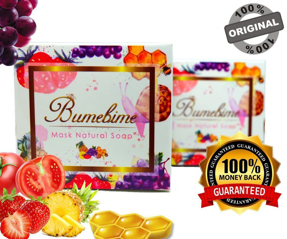 Authentic Bumebime Thai Soap | Natural | Skin Brightening | Skincare | Beauty
