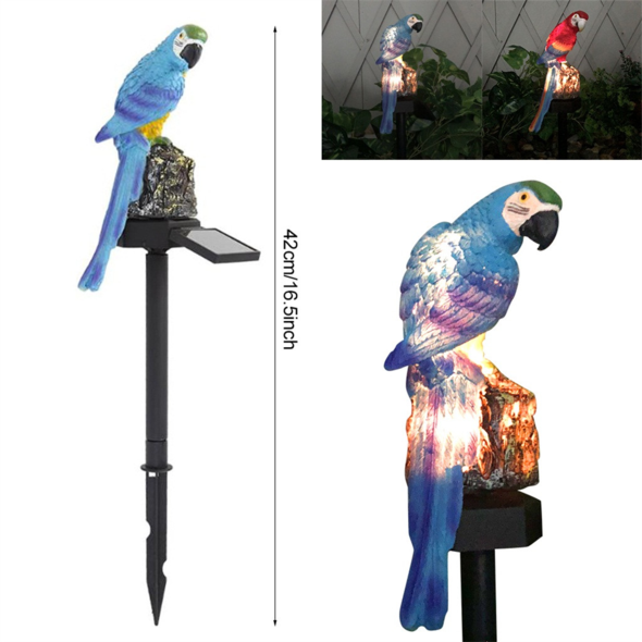 Solar Parrot Inserting Light