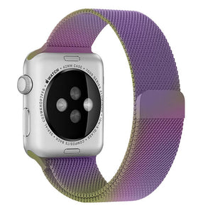 Milanese Stainless Steel Apple Watch Strap | Apple Watch | Colorful