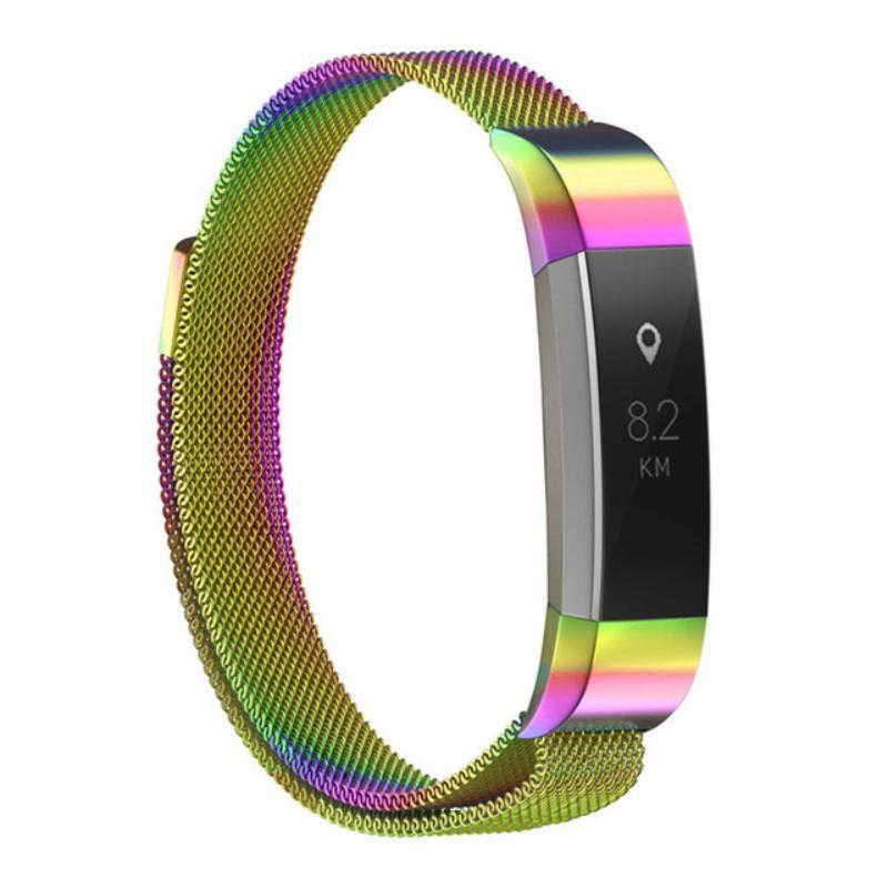 Milanese Colored Stainless Steel Fitbit Alta/Alta HR Strap | Fitbit Alta | Colorful