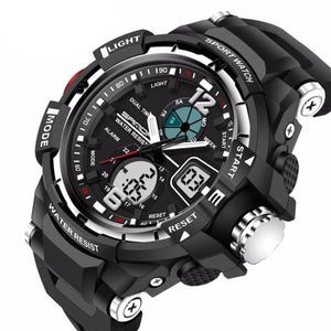 Mens LED Digital Sports Watch | Sports Watch | Silver