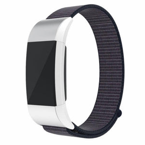 Sports Nylon Loop Fitbit Charge 2 Strap | Fitbit Charge 2 | Midnight Blue