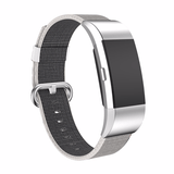 Woven Nylon Fitbit Charge 2 Strap | Fitbit Charge 2 | Pearl