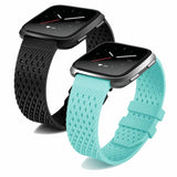 Breathable Silicone Fitbit Versa Strap | Fitbit Versa | [option1]