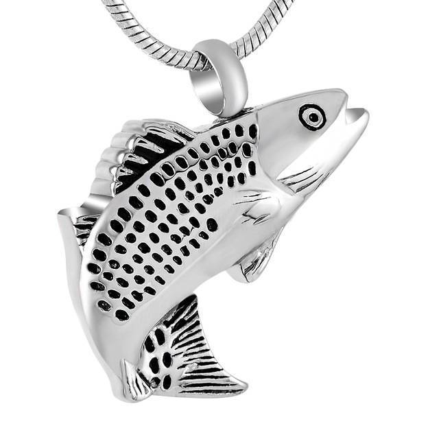 Fish | Urn Jewelry | Urn Necklace | [option1]