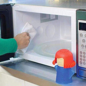 Angry Mama Microwave Oven Steam Cleaner | Home and Kitchen | [option1]