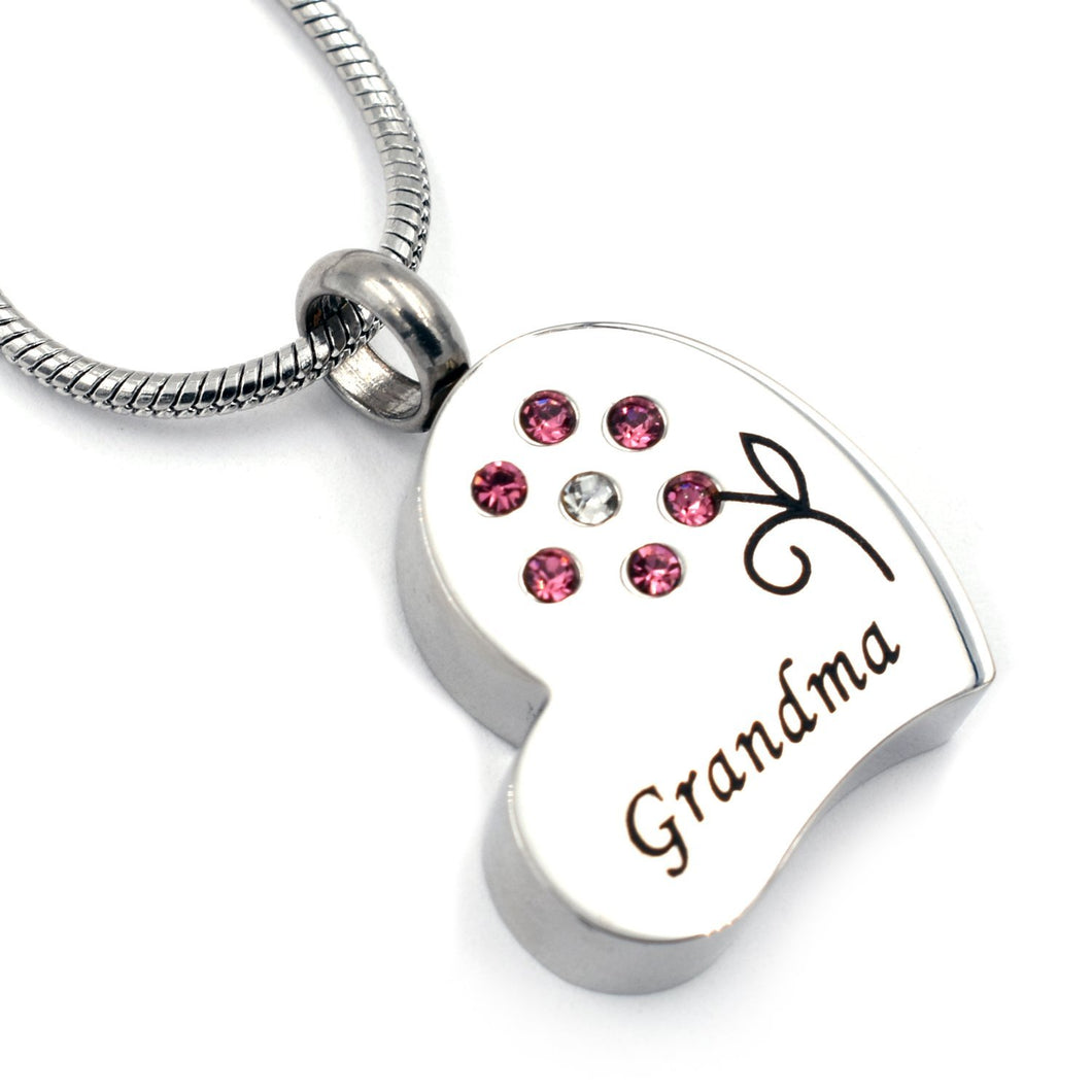Grandma in My Heart | Urn Jewelry | Urn Necklace | [option1]