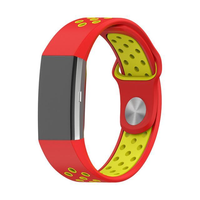 Sports Fitbit Charge 2 Strap | Fitbit Charge 2 | Red Yellow