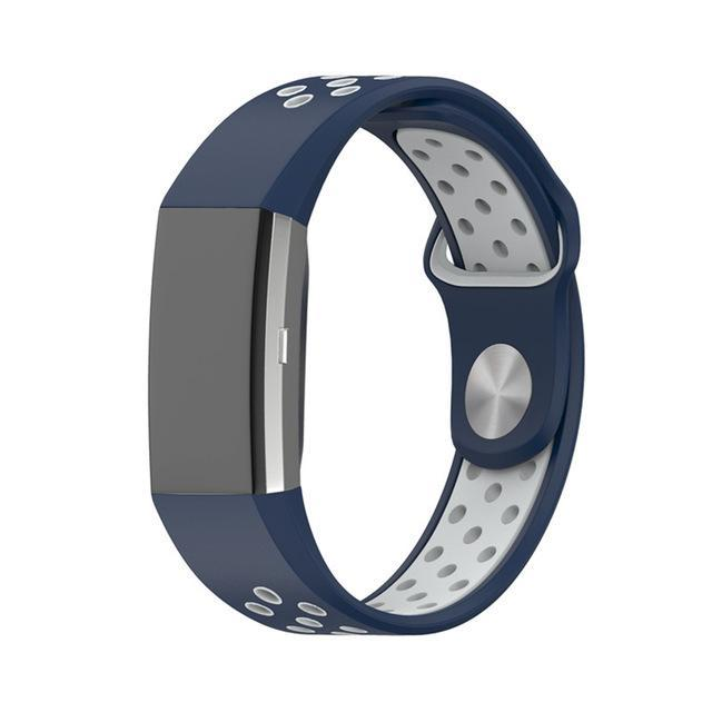 Sports Fitbit Charge 2 Strap | Fitbit Charge 2 | Blue Grey