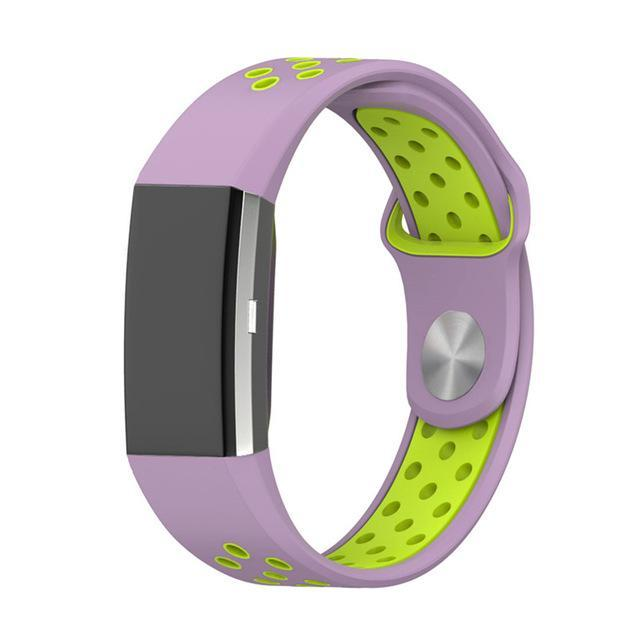 Sports Fitbit Charge 2 Strap | Fitbit Charge 2 | Lilac Green