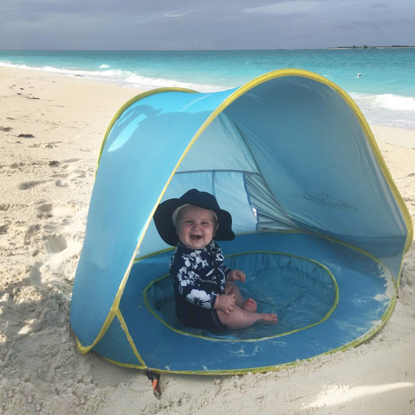 Baby Pop-Up Beach Tent | Sun Block