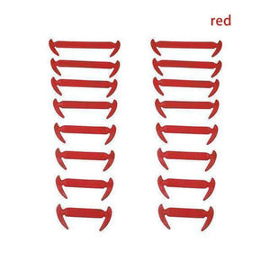 NO-TIE ELASTIC SHOELACES (16 PCS) | [product_type] | Red