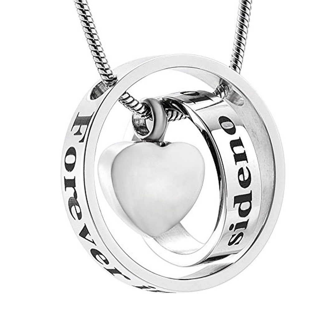 No Longer by My Side Forever in My Heart | Urn Jewelry | Urn Necklace | [option1]