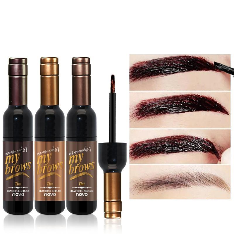 Red Wine Peel Off Eye Brow Tattoo Tint | Beauty, Health, | [option1]