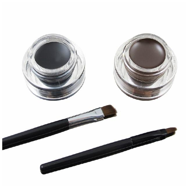 Water-proof And Smudge-proof Eye Liner Kit | Beauty, Health, | Brown + Black