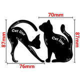 Cat Eyeliner Stencil Makeup Tool- 2Pcs | Beauty, Health, | [option1]