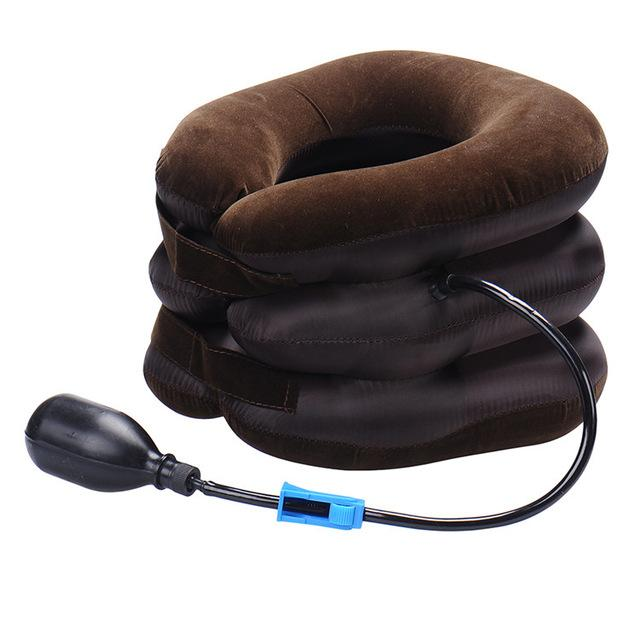 Inflatable pain relief Neck massage Traction Device | Beauty, Health, | coffee
