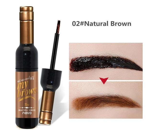 Red Wine Peel Off Eye Brow Tattoo Tint | Beauty, Health, | Natural Black 02
