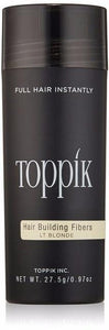 TOPPIK Hair Building Fiber | Limited offer | Light Blonde