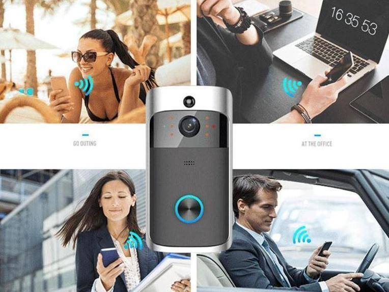 Security Camera | Smart Wifi Doorbell | Product | [option1]
