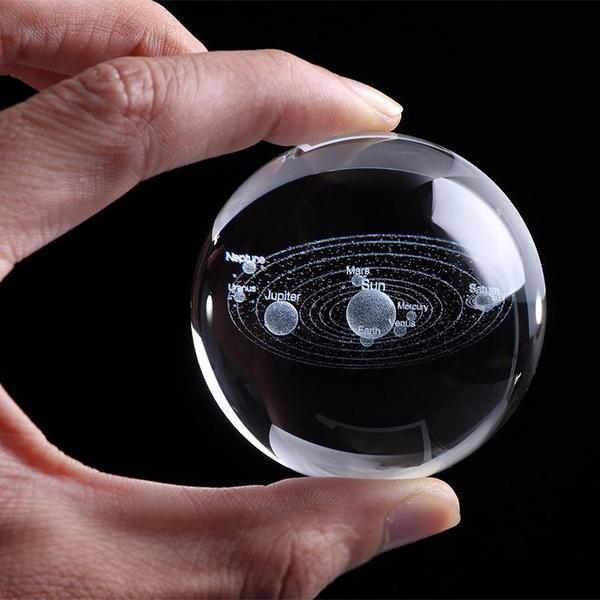 Crystal Ball 3D Solar System | [product_type] | Ball