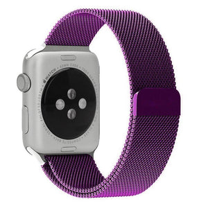 Milanese Stainless Steel Apple Watch Strap | Apple Watch | Purple