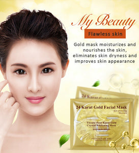 24K Gold Facial Mask Flawless Skin