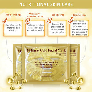 24k Collagen Facial Mask Moisturising Oil Control