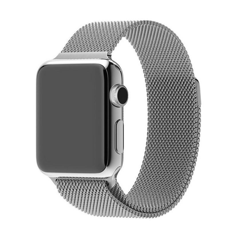 Milanese Stainless Steel Apple Watch Strap | Apple Watch | Silver