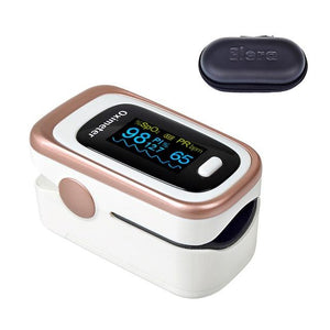 Pulse Oximeter | Blood Pressure | white with case