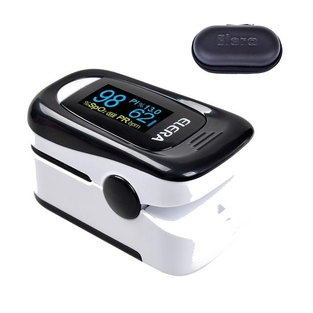 Pulse Oximeter | Blood Pressure | black and white case