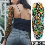 Edgy Fake Tattoo Sleeve | Temporary Tattoos | 2