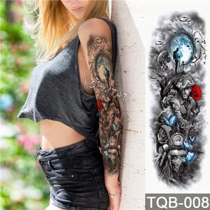 Edgy Fake Tattoo Sleeve | Temporary Tattoos | 4
