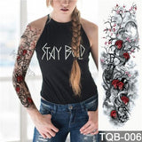 Edgy Fake Tattoo Sleeve | Temporary Tattoos | 5