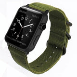 Double Buckle Nylon Apple Watch Strap | Apple Watch Strap | Army Green