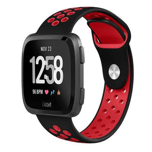 Sports Fitbit Versa Strap | Fitbit Versa | Black Red