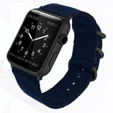 Double Buckle Nylon Apple Watch Strap | Apple Watch Strap | Blue