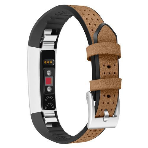 Color Leather Fitbit Alta Strap | Fitbit Alta | Brown